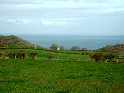 Looking towards Lundy
